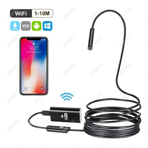 Image 2 - Newest Wireless 720P Mini Endoscope Camera HD Waterproof Snake Borescope Inspection Endoscopy For Iphone Android IOS PC Tablet