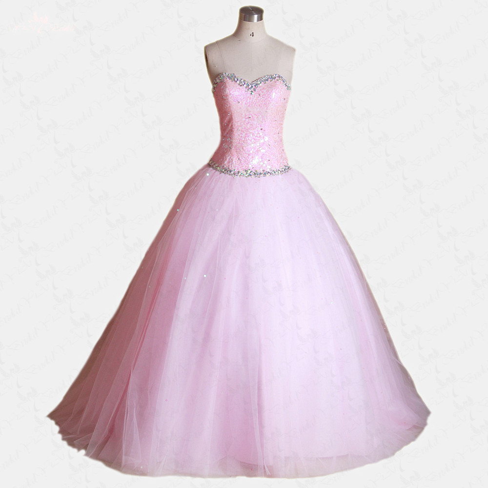 RSE61 Cheap Light Pink Quinceanera Dresses With Jacket Sweetheart Ball Gowns