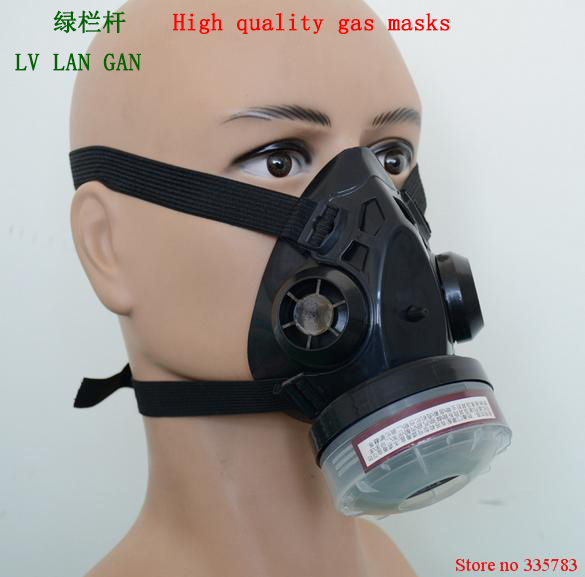 High Quality Self-priming Filter Type  Protect Mask Prevent Harmful Gas Face  Security Protector
