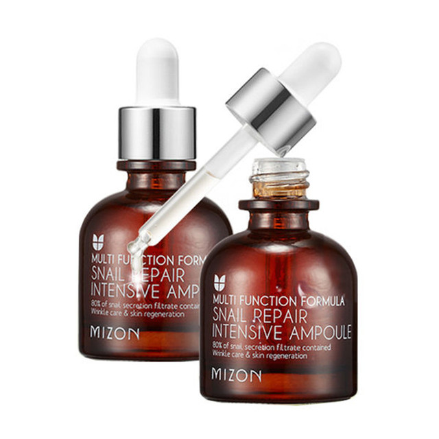 MIZON Snail Repair Intensive Ampoule 30ml Moisturizing Whitening Face Care Anti wrinkle Nourish Snail Repair Cream Serum