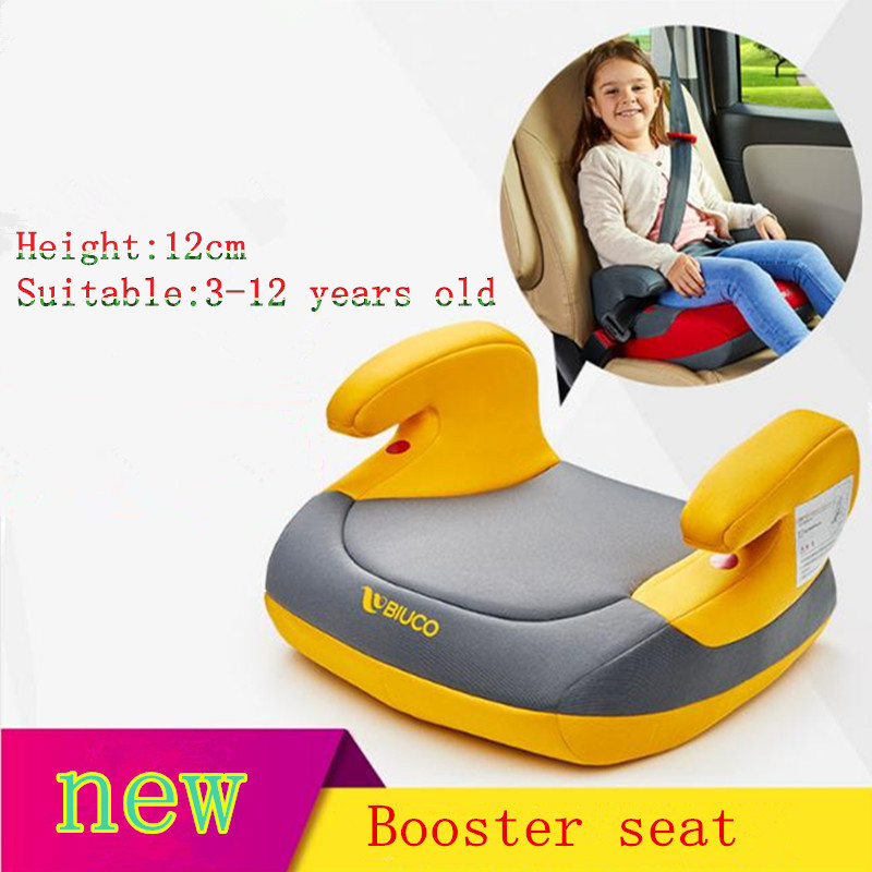 Superb Backless Booster Car Seat Increase Pad Universal Child Car Ibusinesslaw Wood Chair Design Ideas Ibusinesslaworg