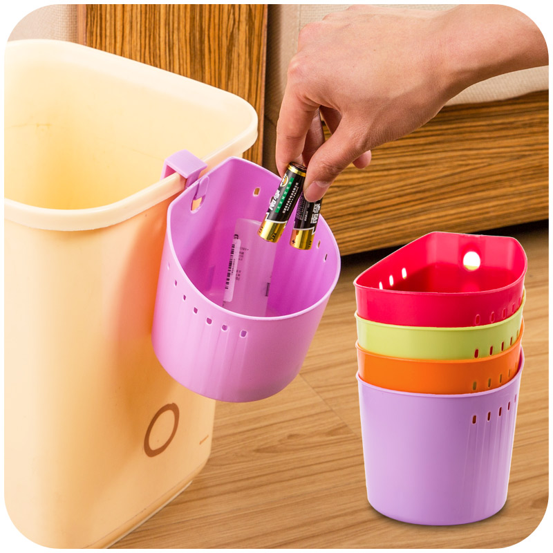 Exceptional 2015 Multi Function Hanging Plastic Waste Bin Trash Bin Garbage  Classification Trash Can Desk Oranizer Storage Container In Storage Boxes U0026  Bins From Home ...