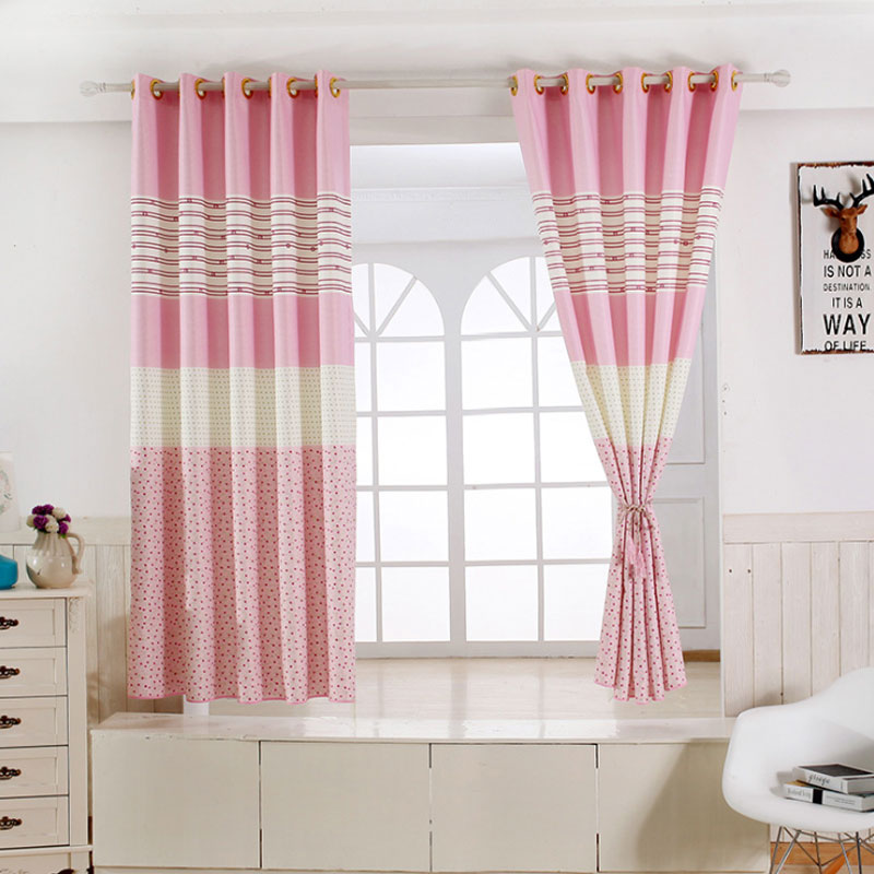 Aliexpress.com : Buy 1 Panel Short Curtains Window Decoration Modern  Kitchen Drapes Striped Pattern Children Bedroom Curtains (Color Of 6)  B16202 From ...