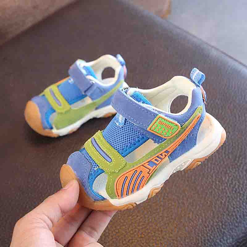 Sandals Girl Summer Shoes Kids Sport Style Baby Sandals Cover Toe Kids Beach Shoes Casual Children Flats Sandals For Boys