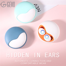 GEVO K10 Bluetooth 5.0 Earphones In Ear Wireless TWS Earbuds Stereo Mini Bass Sound Headset For iPhone X 7 Xiaomi Phone Sport цена в Москве и Питере