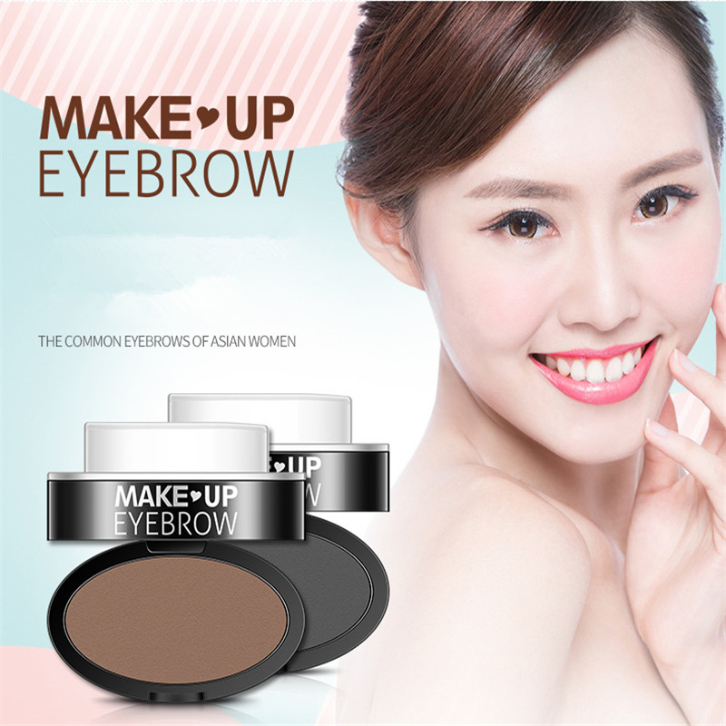 New Fashion Eyebrow Powder Seal Eyebrow Shadow Set Waterproof Eyebrow Stamp Natural Shape Brow Stamp Powder in Eyebrow Enhancers from Beauty Health