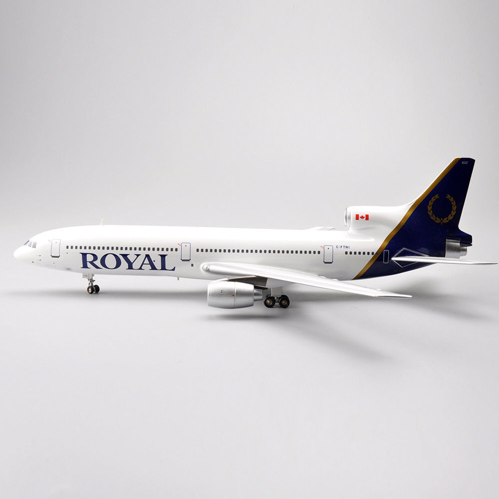 NEW 1/200 Diecast Airplanes Model Toys Inflight 200 LOCKHEED L-1011 TriStar ROYAL C-FTNI Model Aircraft Model   Kids Gifts Colle lauren ralph lauren women s crochet v neck maxi dress xl tomato red