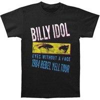 2018 Mùa Hè Mới Men Hot Bán Thời Trang Billy Thần Tượng của Nam Giới Rebel Yell Tour '84 Slim Fit T-Shirt Kích Thước S Đến 3XLT Áo Sơ Mi Nam In