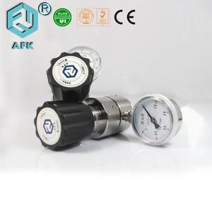 Image 3 - R11 נירוסטה יחיד שלב CO2 לחץ גז רגולטור עם אחד לשקע מד