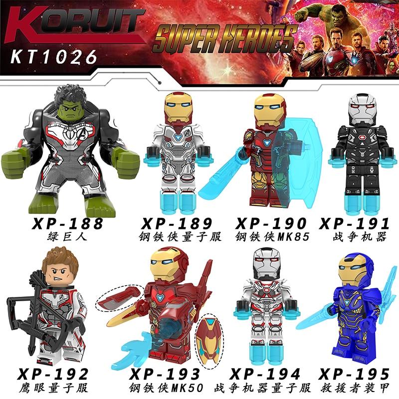50PCS/LOT Legoing Super Hero Figures Building Block Avengers Thor Iron Man MK85 Captain America MK50 For Children Toys KT102650PCS/LOT Legoing Super Hero Figures Building Block Avengers Thor Iron Man MK85 Captain America MK50 For Children Toys KT1026