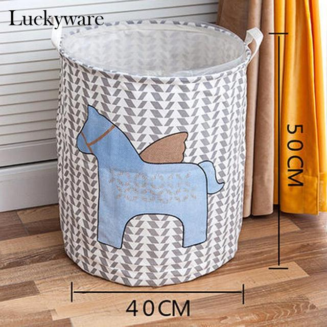 Handles Round Towels With Clothes To Hold For New Storage Blankets Bin  Nursery Baby Clothes Baby