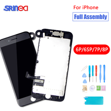 Full Set Assembly LCD Display Digitizer For iPhone 6 6s 7 8 Plus 1AAA Quality LCD Touch Screen i Phone 6 S Plus 7plus 8plus high quality display screen for iphone 7 lcd with touch screen assembly for iphone 7 7plus display for iphone 6 lcd 6s 6 plus