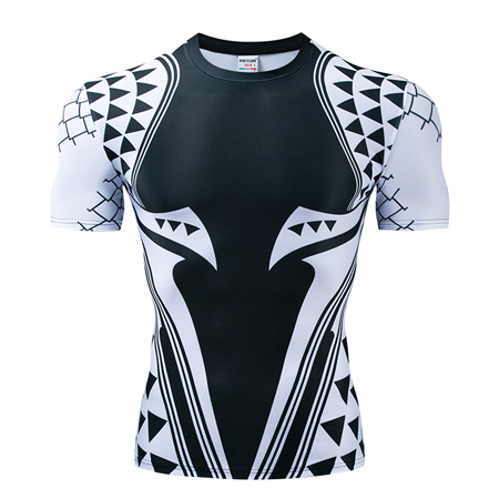 Мстители эндгейм футболка Квантовая царство компрессионная с коротким рукавом для мужчин тренажерный зал Спорт Фитнес окрашенные футболки спортивная одежда для мужчин - Цвет: DX-060