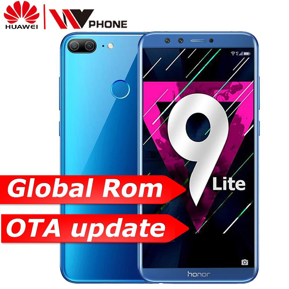 "huawe Honor 9 Lite honor9 lite 5.65"" Octa Core 2160*1080P Mobile Phone Dual Font Rear Camera 3000mAh Fingerprint faceid"