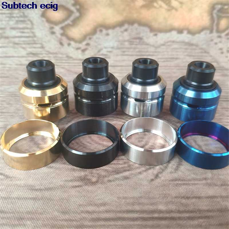 Newest Daywon rda atomizer 22mm 24mm diameter 316SS DIY taste RDA for 510 mods RDTA RBA tank vs Dvarw kennedy kayfun lite Taifun