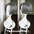 Мили Edgeworth высокое качество короткие серый дым полный косплей парики аниме Ace прокурора Gyakuten Saiban волосы парик бесплатная доставка