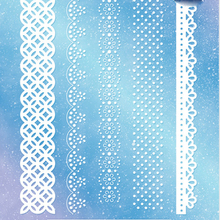 Different Lace Edge Border Metal Cutting Dies Stencils For DIY Scrapbooking Photo Craft Decorative Embossing Suit Paper Card Die