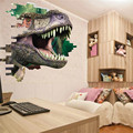 New Arrival 3D Dinosaur Wall Sticker Decal Mural Art Wall Stickers for Kids Rooms Home Decor