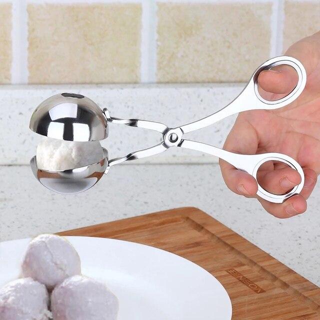 1Pc Gadgets de Cuisine antiadhésif pratique viande Baller outil de cuisson Cuisine boulette de viande Scoop boule fabricant accessoires de Cuisine Cuisine. Q 3