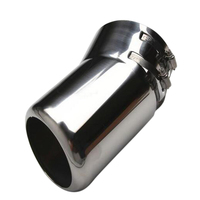 Stainless Steel Exterior Accessories Rear Exhaust Muffler Pipe 1pcs Fit for Nissan Patrol (Y62) Sixth generation 2010 2018