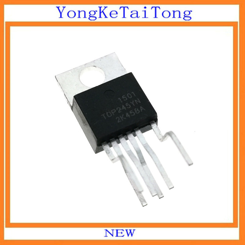 2 PCS TOP245YN TO-220 TOP245Y TOP245 Off-line Switcher