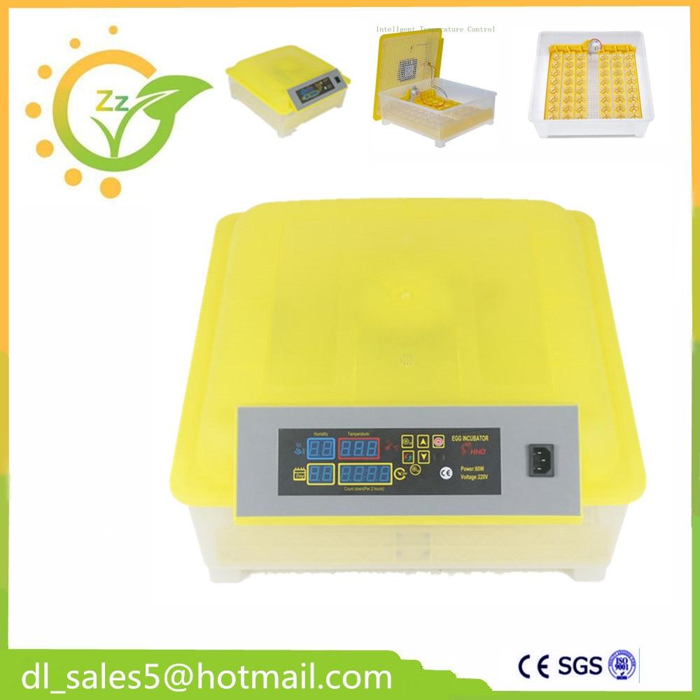 ФОТО EU Fast Shipping Hot sale  48 Mini Chicken egg incubator hatching machine