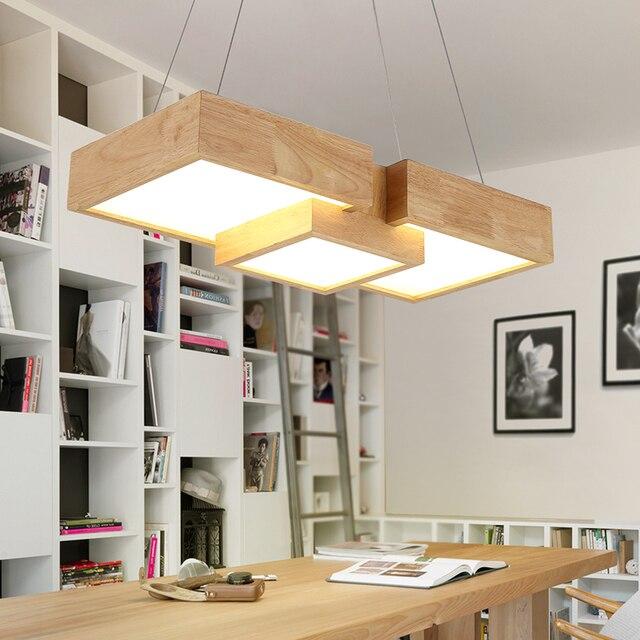 Lamparas De Cocina Modernas | Tienda Online Moderna De Madera Led Lamparas Colgantes Para