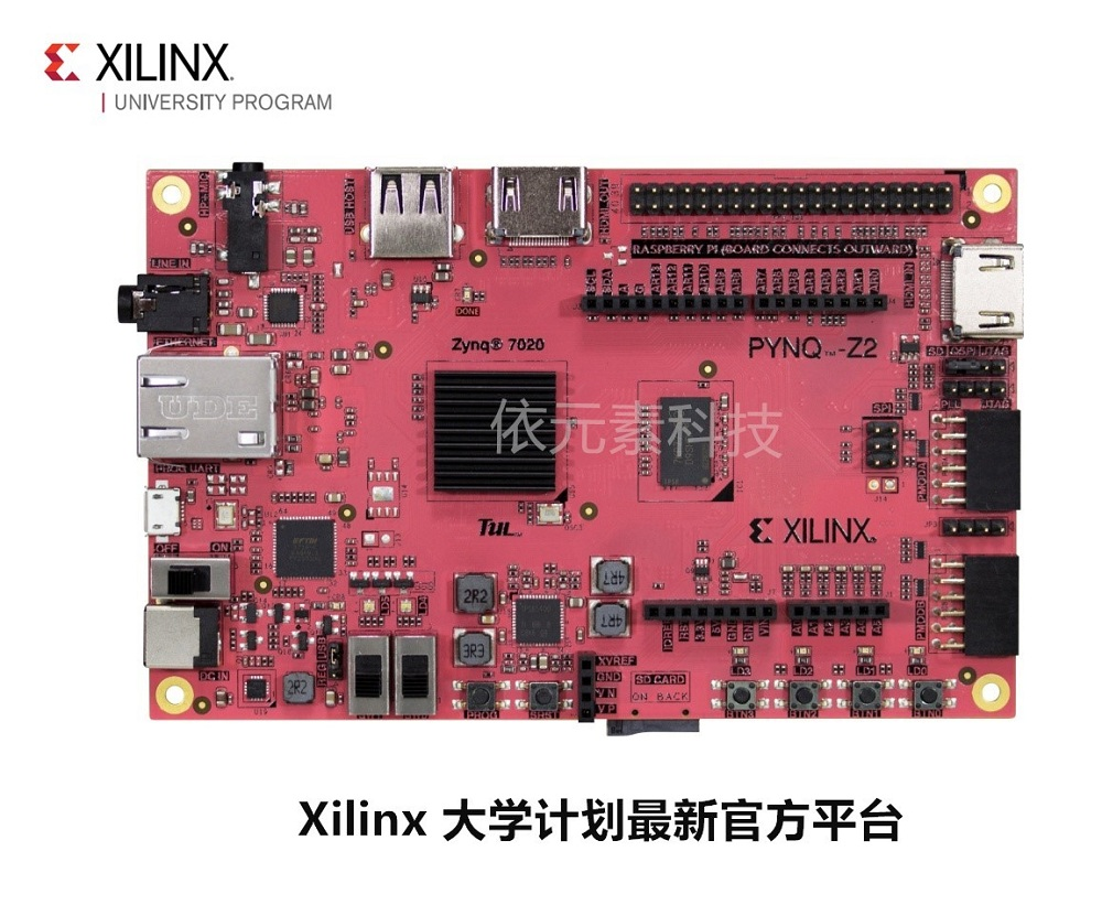 Xilinx PYNQ Artificial Intelligence Digital Signal Processing HLS Python ZYNQ FPGA Development Board