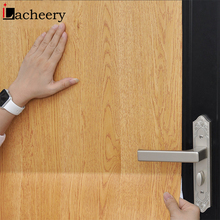Papel de parede de 60cm de largura, reformado, grão de madeira, mesa de papel de parede, armário, porta, autoadesivo, à prova d água, decoração de casa