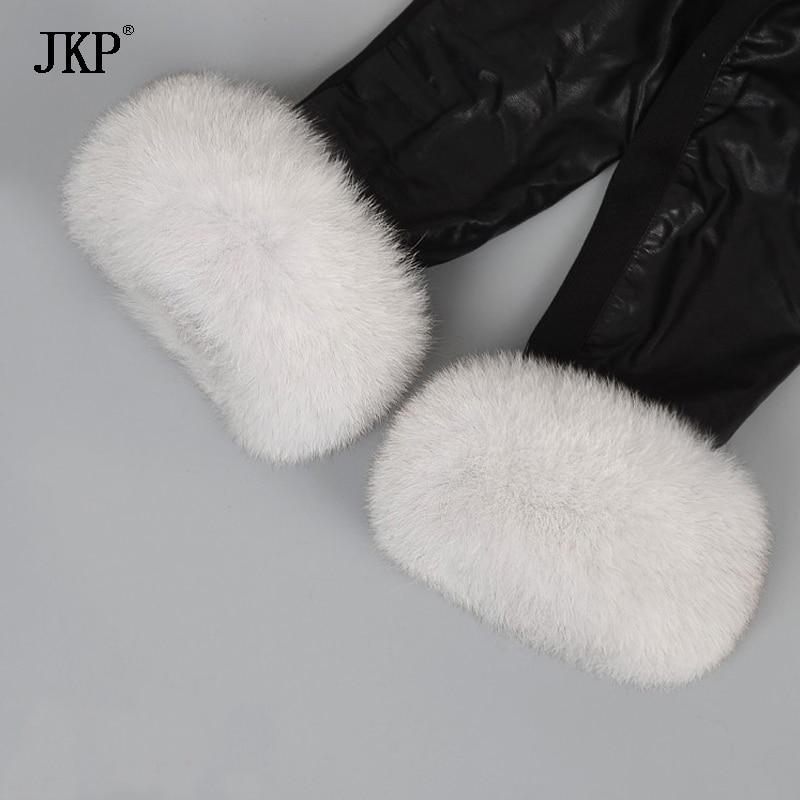 Hot Sale Fox Fur Cuffs Warmer Genuine Fox Fur Cuff Arm Warmer Bracelet Real Arm Warmers Women Coat
