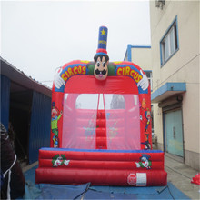 high quality inflatable bouncer house outdoor inflatable fun city YLW-bouncer 174