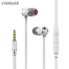 패션 스테레오베이스 3.5 mm 유선 이어폰 마이크와 이어폰 이어폰 헤드폰 전화 컴퓨터 아이폰 화웨이 Xiaomi