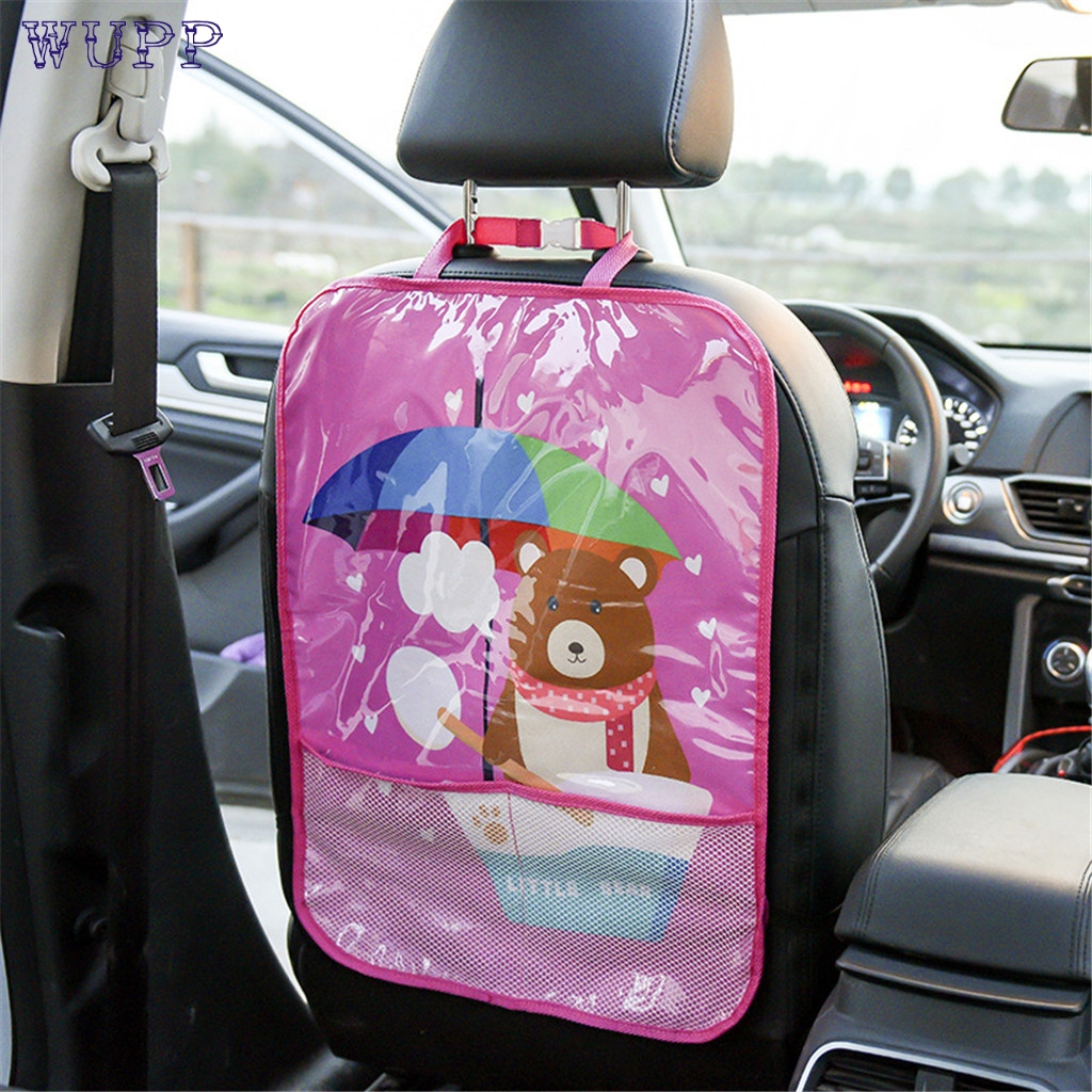 Car Back Seat Protector Cover Children Kick Mat Mud Clean PVC Protect Covering
