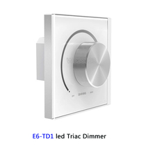 LTECH Wall Mount Knob led Triac Dimmer E6-TD1;AC 220-240V 50-60Hz for High Voltage LED Light Incandescent Lamp Halogen Lamp mtspace high quality 220 240v ac 36w wide voltage t8 electronic ballast fluorescent lamp ballasts