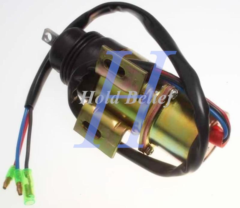 New Stop Solenoid 4281719 for Hitachi EX12 EX15 EX22 EX25 EX30 EX35 EX40