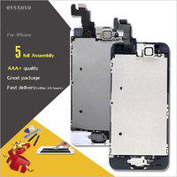 Ovsnovo 100 AAA Quality LCD Full Assembly For Iphone 5 5c 5s SE LCD Touch Glass