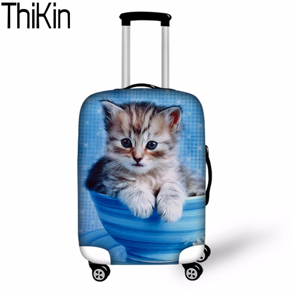 THIKIN Case Cover Travel Suitcase Protective Rain Cover Waterproof Bag Luggage Protect Covers for Trunk Case Luggage Case Cover