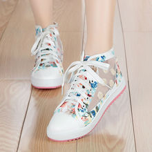 MIUBU spring and summer sweet woman fashion breathable mesh shoes comfortable fl