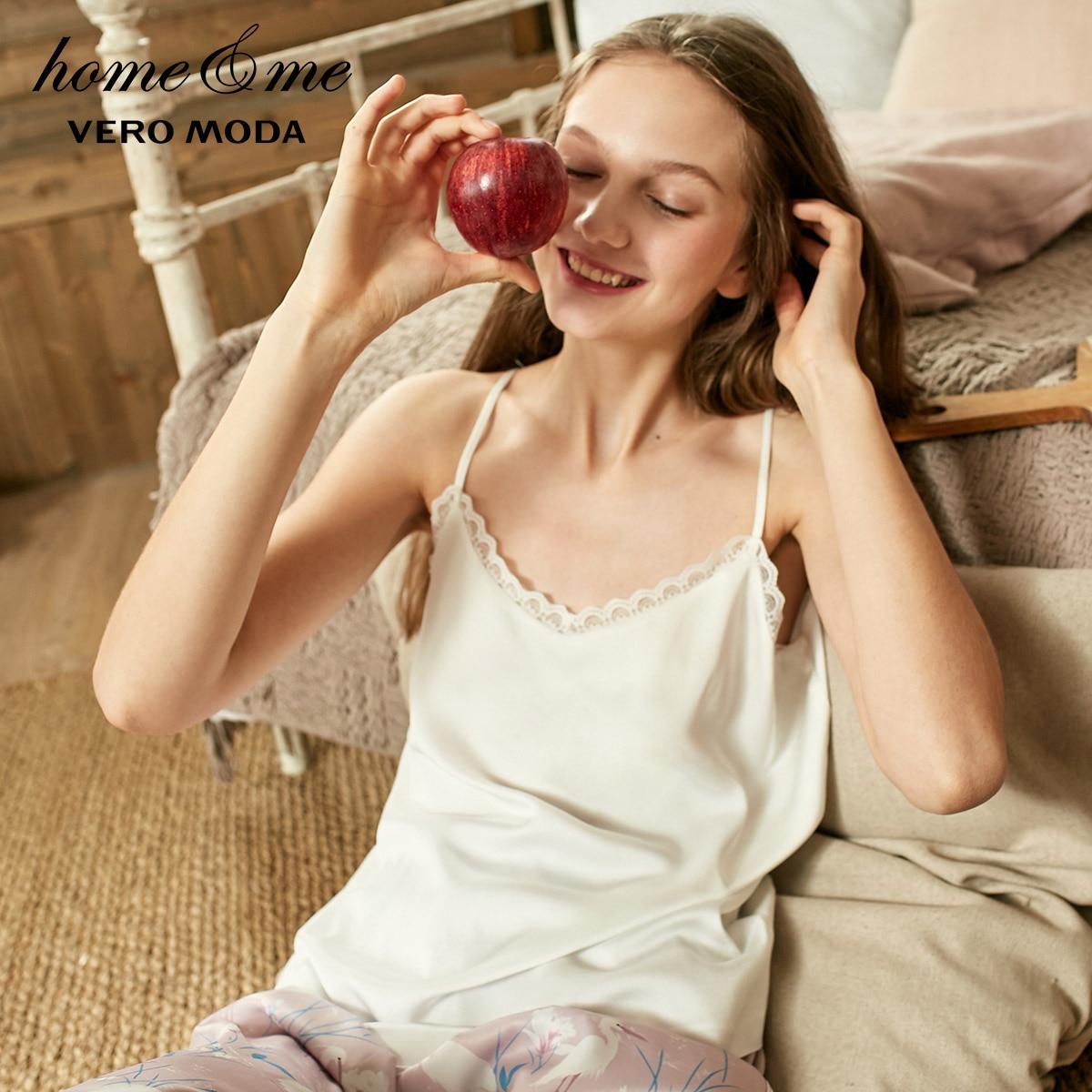 Vero Moda Women's Spring Lace Splice Camis Sun-top   31916Y507