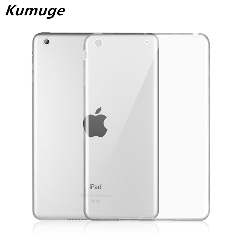 Transparent TPU Silicone Back Cover for New iPad 2017 Model A1822 Tablet Cover for Funda New iPad 2017 Capa Para +Stylus Pen for ipad mini4 cover high quality soft tpu rubber back case for ipad mini 4 silicone back cover semi transparent case shell skin