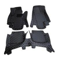 for Mazda CX 3 CX3 2015 2016 2017 2018 Accessories Interior Leather Floor Carpet Inner Car Foot Mat 1set