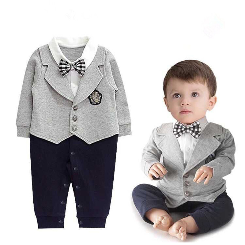781faae23a6e Baby boy romper baby clothes College waistcoat s infant Gentleman romper  Toddler kid s jumpsuit newborn clothing rompers-in Clothing Sets from  Mother   Kids ...