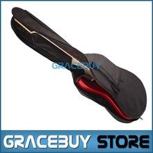 """40"""" Guitar Bass Gig Bag Black Backpack 5MM Thick Sponge 600D Oxford Cloth Padded Guitarra Gigbag Case For Sale"""