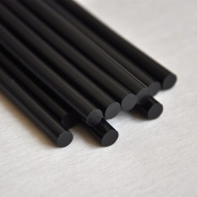 12 шт./лот, черные Профессиональные кератиновые клеевые палочки для наращивания человеческих волос, инструменты для макияжа