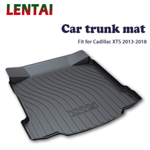 EALEN 1PC rear trunk Cargo mat For Cadillac XTS 2013 2014 2015 2016 2017 2018 Styling Boot Liner Tray Anti-slip mat Accessories ealen 1pc rear trunk cargo mat for buick encore 2013 2014 2015 2016 2017 2018 styling boot liner tray anti slip mat accessories