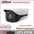 4mp bala dahua câmera ip suporte onvif psia dh-ipc-hfw4431m-i2 cg gb/t28181 com 80 m faixa de ir day night câmera de rede de bala