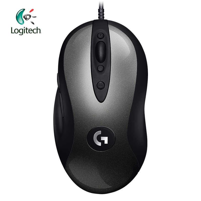 ロジクール 2018 新バージョン MX518 伝説ゲーミングマウス 16000 DPI 光学 400 IPS クラシック発熱レベルマウス伝説リボーン