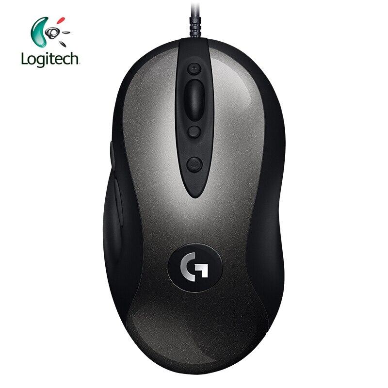 Logitech 2018 Nuova Versione MX518 Leggendario Gaming Mouse con 16000 dpi Ottico 400 IPS Classico Livello Febbre Mouse Legend Reborn