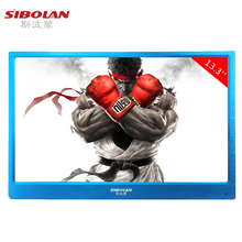 13.3inch 1920*1080 Computer Monitor Built-in Speaker IPS Display Backlight Portable USB LED Perfect Screen HDMI PS3 XBOX PS4(China (Mainland))