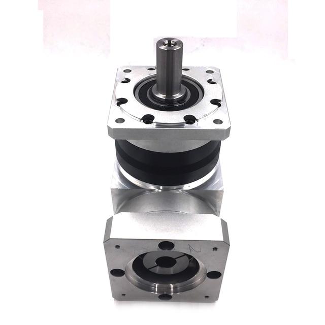 Réducteur de vitesse à droite 28NM | Ratio 121, couple 180 nm, 2 étapes, 60mm, réducteur planétaire, entrée, alésage 14mm pour moteur de Servo NEMA24